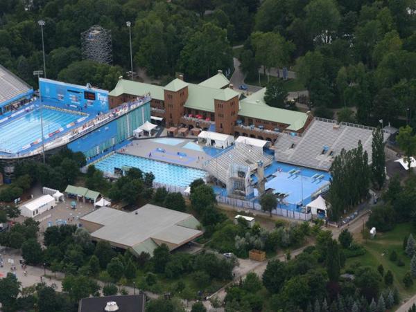 VM-stadion i Montral - The Jean Drapeau aquatic complex