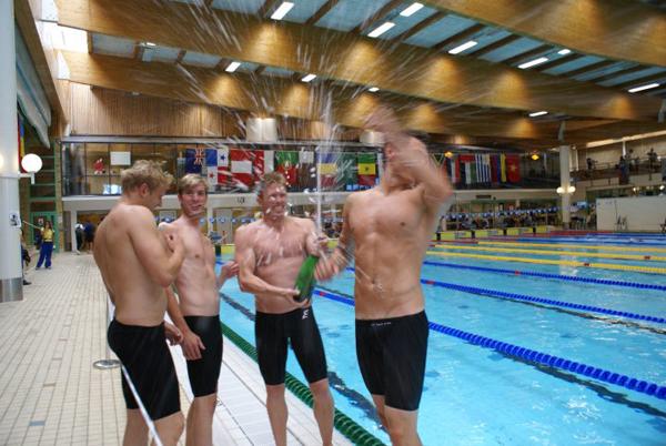 USG - Fejring af Europarekorden