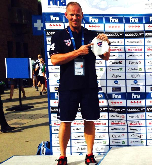 Finnbjørn                                                         Adalheidarson -                                                         World Masters                                                         Championships                                                         2014 - Montreal