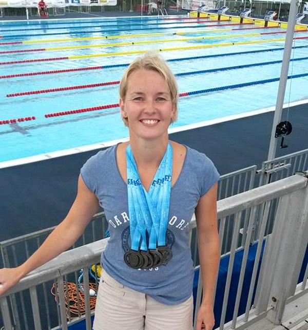 Linda                                               Lund Tietze - 3 nordiske                                               rekorder ved VM i                                               Montreal