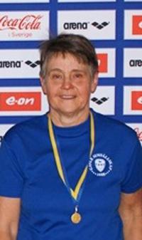 Margareta                                                           Rainer - 3 x                                                           guld ved VM i                                                           Montreal