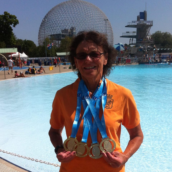Margit                                                         Ohlsson - 4 VM                                                         Medaljer i                                                         Montreael