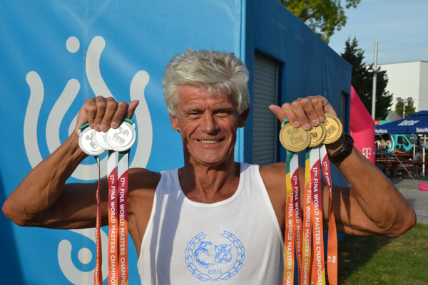 Leonard Bielicz vandt                                               3 guld og 3 sølv ved VM i                                               Budapest