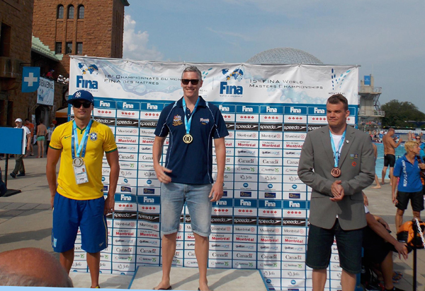 Mika Varis                                                         won bronze medal                                                         in 100 m                                                         freestyel at VMC                                                         2014 in                                                         Montreal