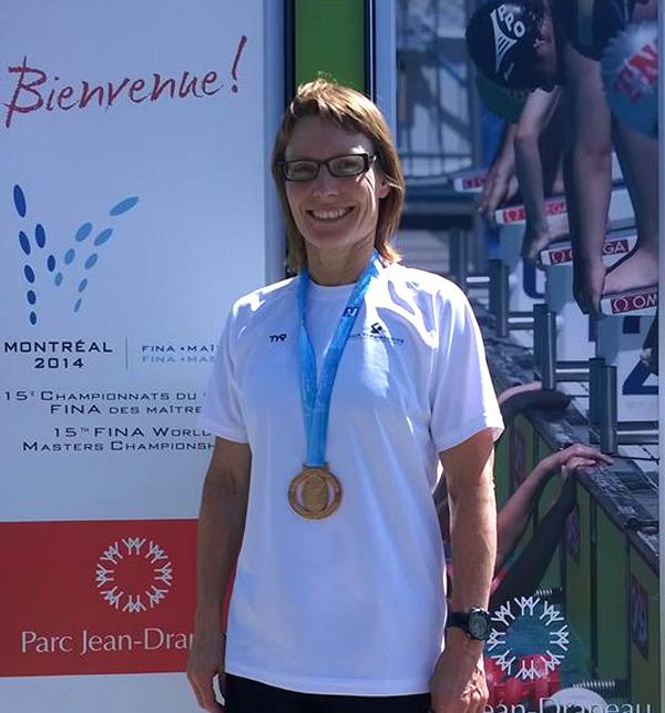 Susanne                                                         Metzsch vinder                                                         bronze ved VM i                                                         Montreal 2014