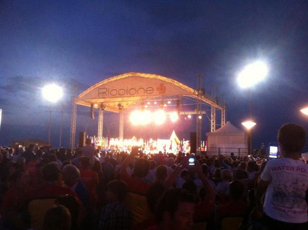 Opening Ceremony VM 2012 Riccione