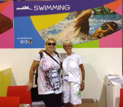 Winnie Grønbech og Grethe Bentsen til World Masters Games 2013 i Torino