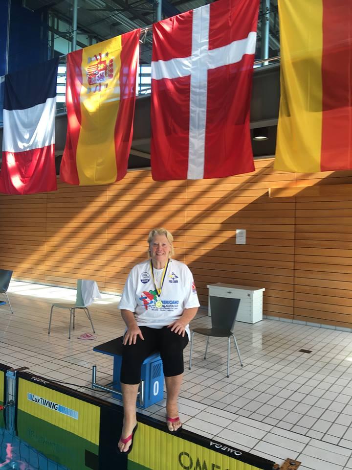 Winnie Grønbech                                               til Luxembourg Open                                               Masters 2016