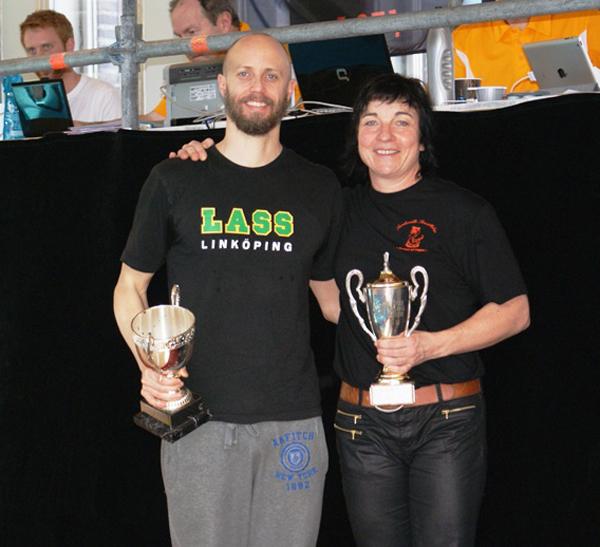Lars                                                         Frölander og                                                         Maria Norberg                                                         satte WR ved                                                         Svenske Masters                                                         2014