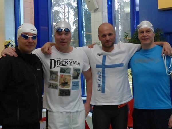 Tuusalan Uimaseura                                               - Finnish Open Masters                                               2015 - Oulu
